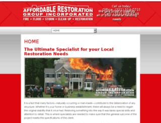 affordablerestorationgroup.com screenshot