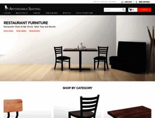 affordableseating.net screenshot