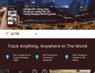 affordabletrackingservice.com screenshot