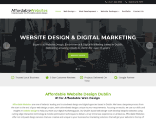 affordablewebsites.ie screenshot