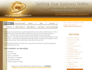 affordablewebsitesolutions.biz screenshot