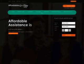 affordablewriting.net screenshot