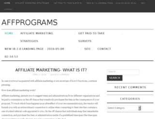 affprograms.co screenshot