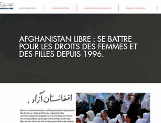 afghanistan-libre.org screenshot