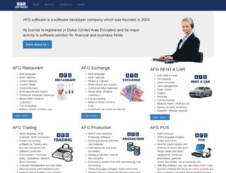 afgsoftware.com screenshot