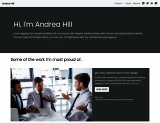 afhill.com screenshot