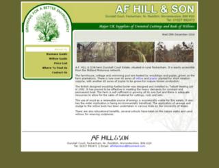afhillandson.co.uk screenshot