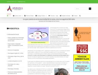afigranca.org screenshot