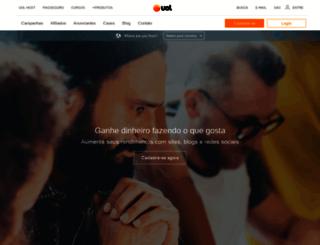 afiliados.uol.com.br screenshot