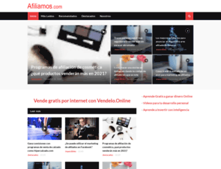 afiliamos.com screenshot