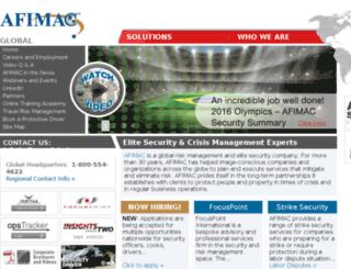 afimaccan.com screenshot