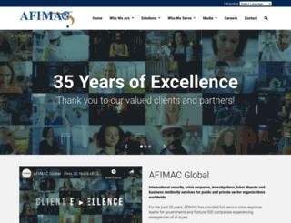 afimacglobal.com screenshot