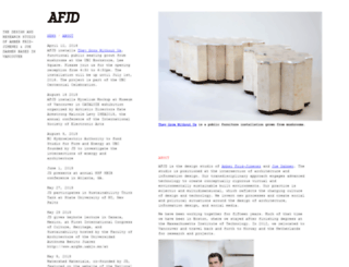 afjdstudio.net screenshot