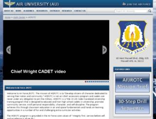 afjrotc.com screenshot