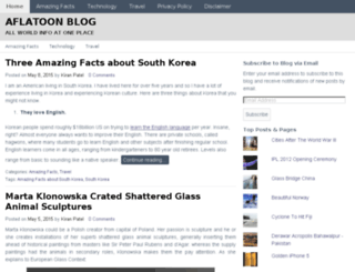 aflatoonblog.com screenshot