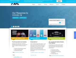 afltelecommunications.com screenshot