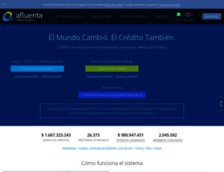 afluenta.com screenshot