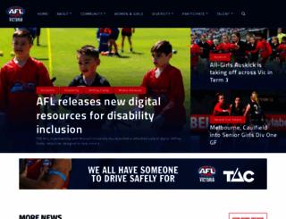 aflvic.com.au screenshot