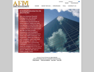 afm-invest.com screenshot