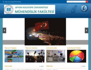 afmuh.aku.edu.tr screenshot