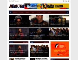 afonteenoticia.com.br screenshot