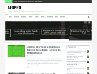 afopro.com screenshot