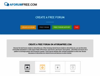 aforumfree.com screenshot