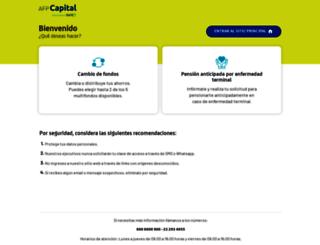 afpcapital.cl screenshot
