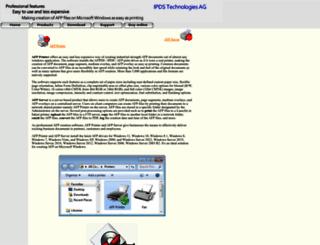 afpdriver.com screenshot