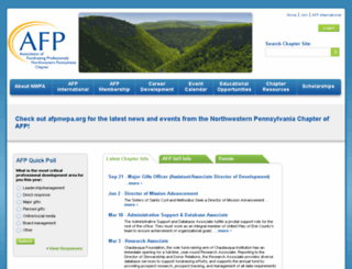 afpnwpa.afpnet.org screenshot