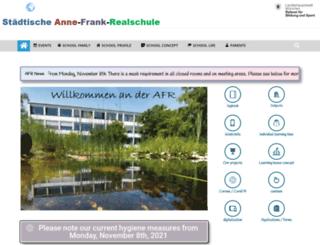 afr.musin.de screenshot
