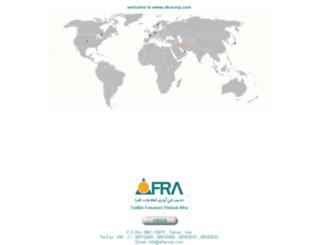 afracorp.com screenshot