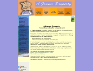 afranceproperty.com screenshot