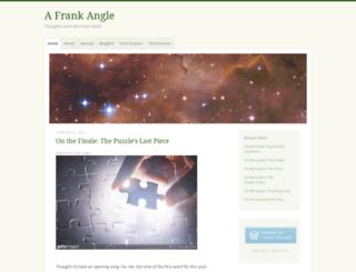 afrankangle.wordpress.com screenshot