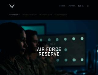 afreserve.com screenshot