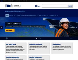 africa-eu-partnership.org screenshot