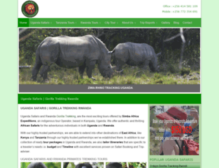 africa-expeditions.com screenshot