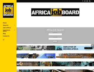africa-job-board.com screenshot