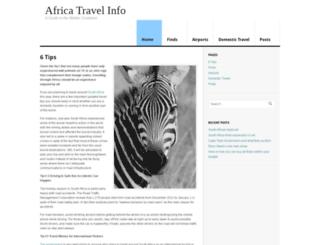 africa-travelinfo.co.za screenshot