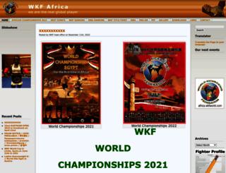 africa.wkfworld.com screenshot