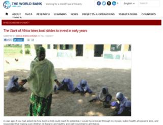 africacan.worldbank.org screenshot