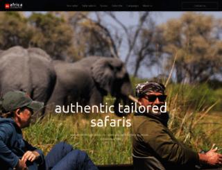 africageographic.co.uk screenshot