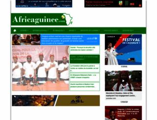 africaguinee.com screenshot