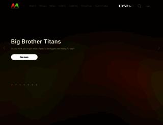 africamagic.dstv.com screenshot