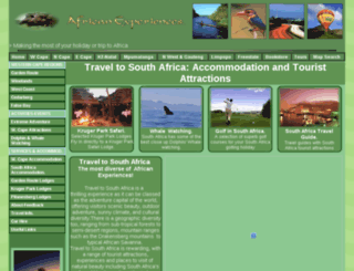african-experiences.com screenshot