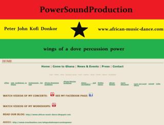 african-music-dance.com screenshot