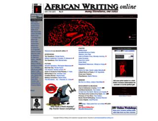 african-writing.com screenshot