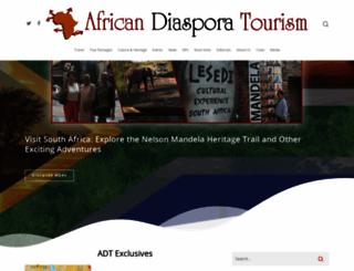 africandiasporatourism.com screenshot