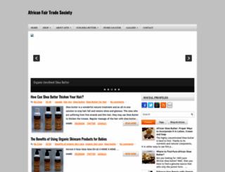 africanfairtradesociety.blogspot.in screenshot