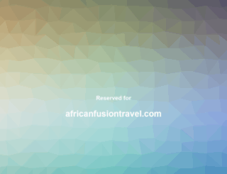 africanfusiontravel.com screenshot
